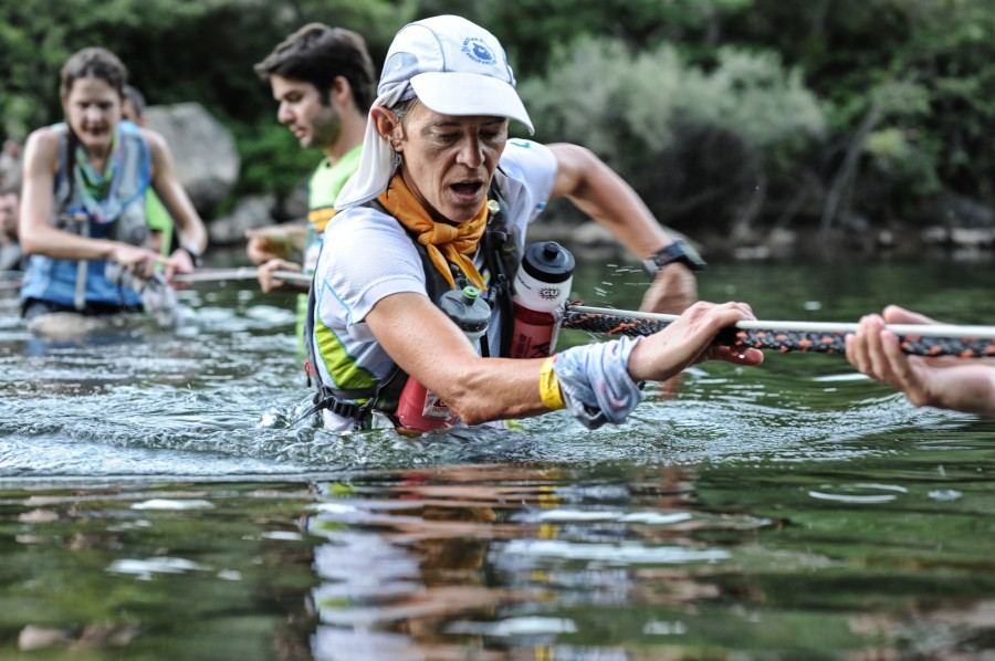 Meghan Arbogast at mile 78 during the 2013 WSER